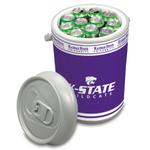 Picnic Time Kansas State University Wildcats Mega Can NCAA Insulated Cooler, 5 Gallon