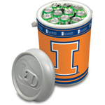 Picnic Time University of Illinois Fighting Illini Mega Can NCAA Insulated Cooler, 5 Gallon
