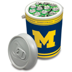 Picnic Time Universtiy of Michigan Wolverines Mega Can NCAA Insulated Cooler, 5 Gallon