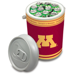 Picnic Time University of Minnesota Golden Gophers Mega Can NCAA Insulated Cooler, 5 Gallon