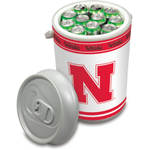 Picnic Time University of Nebraska Cornhuskers Mega Can NCAA Insulated Cooler, 5 Gallon
