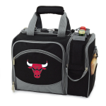 Picnic Time Malibu Black NBA Chicago Bulls Digital Print Picnic Pack