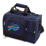 Picnic Time Malibu Navy Blue NFL Buffalo Bills Digital Print Picnic Pack