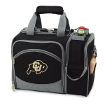 Picnic Time Malibu Black Polyester NCAA University Of Colorado Buffaloes Digital Print Picnic Basket