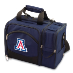 Picnic Time Malibu Navy Blue NCAA University of Arizona Wildcats Embroidered Picnic Pack