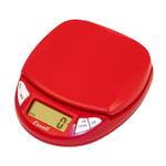 Escali Pico Cherry Red Digital Scale, 11 pound