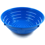 Scandicraft Blue Round Plastic Bread Proofing Bowl, 6 Cup