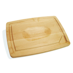 J.K. Adams Maple Double-Sided Pour Spout Carving Board, 16 x 12 Inch