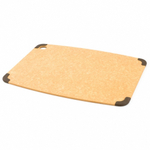 Epicurean Non-slip Natural Cutting Board with Brown Grippers, 13 x 18 Inch