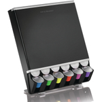 Mind Reader Free Fall Black 42 Nespresso Capsule Dispenser