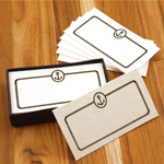 Homart Anchor Printed Handmade Paper Card, Set of 32