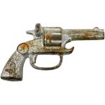 Homart Cast Iron Revolver Bottle Opener
