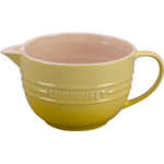 Le Creuset Soleil Yellow Stoneware Batter Bowl, 2 Quart