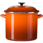 Le Creuset Flame Enamel on Steel Stockpot, 20 Quart