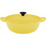Le Creuset Soleil Yellow Enameled Cast Iron Soup Pot, 3.25 Quart