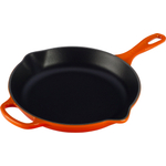 Le Creuset Signature Flame Enameled Cast Iron 10.25 Inch Skillet