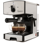 Capresso EC50 Stainless Steel Espresso and Cappuccino Machine