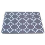 Royal Slate Tempered Glass Rectangular Cutting Board, 8 x 10 Inch