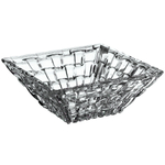 Nachtmann Dancing Stars Bossa Nova Non-Leaded Crystal Square Condiment Bowl, Set of 2