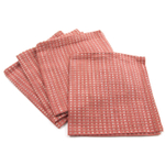 Park B. Smith Cortina Guava Pink 100% Cotton Dinner Napkin, Set of 12