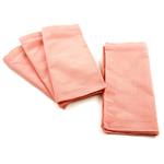 Park B. Smith Dalton Sorbet Orange 100% Cotton Dinner Napkin, Set of 12