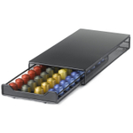 Nifty 40 Nespresso Capsule Black Metal Drawer Storage System