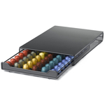 Nifty 60 Nespresso Capsule Black Metal Drawer Storage System