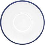 Dansk Kobenstyle Blue Stoneware Demitasse Saucer, Set of 4