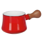 Dansk Kobenstyle Chili Red Enameled Steel Butter Warmer
