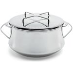 Dansk Kobenstyle Stainless Steel Casserole Pot with Lid, 2 Quart