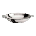 Cristel Multiply Stainless Steel 12.5 Inch Frying Pan