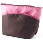 Thermos Raya IsoTec Brown and Pink Insulated Lunch Tote