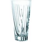 Nachtmann Art Deco Crystal Vase, 11 Inch
