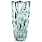 Nachtmann Crystal Quartz Vase, 10 Inch