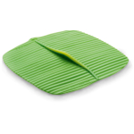 Charles Viancin Green Silicone Banana Leaf Cover, 10 x 10 Inch