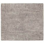 Modern Twist Linen Chocolate Silicone Placemat, 14 x 16 Inch