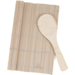 Joyce Chen Bamboo Authentic Sushi Rolling Kit 2 Piece