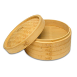 Joyce Chen Bamboo Two Tiered Vegetable Steamer Set, 12 Inch