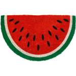Entryways Hand Woven Coir Watermelon Doormat, 17 x 28 Inch