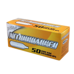 Nitrocharged Nitro50 N2O Whipped Cream Charger, 50 Count