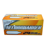 Nitrocharged Nitro24 N2O Whipped Cream Charger, 24 Count