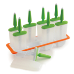 Norpro Green and Orange Plastic Frost Pop Maker Tray