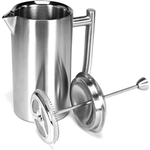 Frieling Brushed Stainless Steel French Press Coffeemaker, 36 Ounce