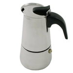 Stainless Steel Italian Style Espresso Maker, 2 Cup