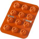 Nordic Ware Orange Aluminum Pumpkin Cake Pops Pan