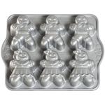 Nordic Ware Cast Aluminum Gingerbread Kids Cakelet Pan
