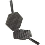 Nordic Ware Black Cast Aluminum Waffle Puff Pan
