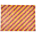 Entryways Muir Candy Exotic Rubberwood Mat, 18 X 30 Inch