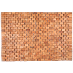 Entryways Wright Natural Exotic Teak Wood Mat, 18 X 30 Inch