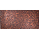 Entryways Mather Natural Exotic Rosewood Rug, 36 X 71 Inch